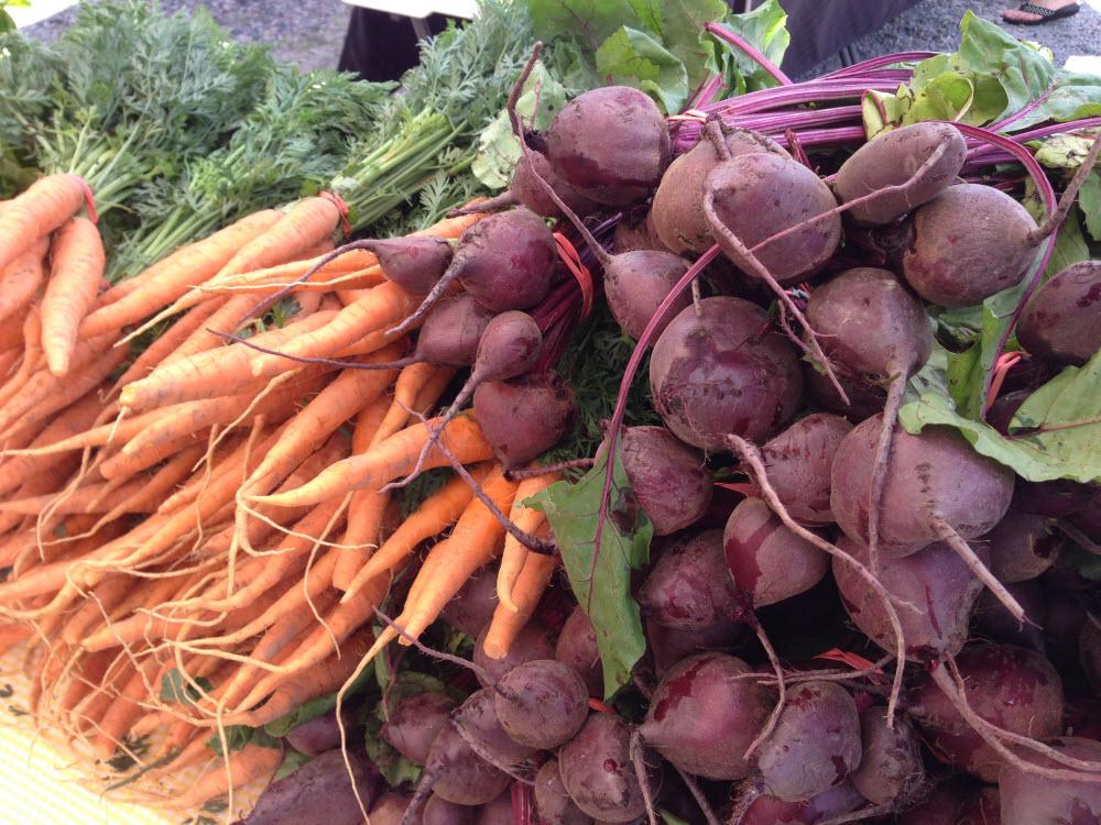 Carrots & Beets from Walnut Hill Farm