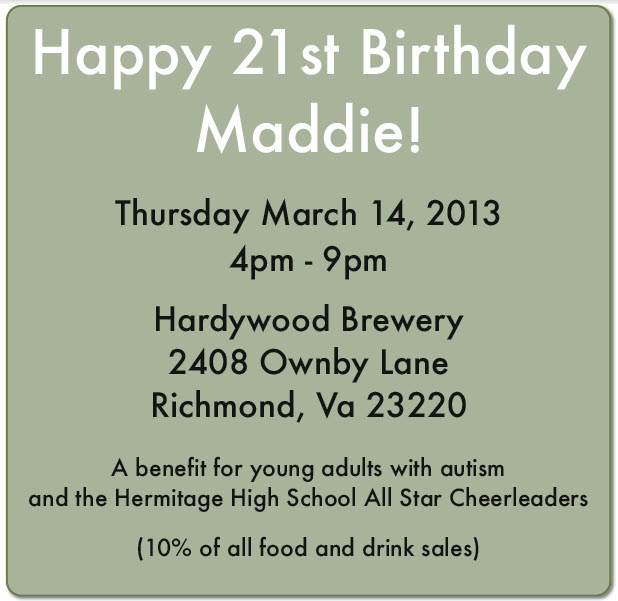 Maddies birthday 2013