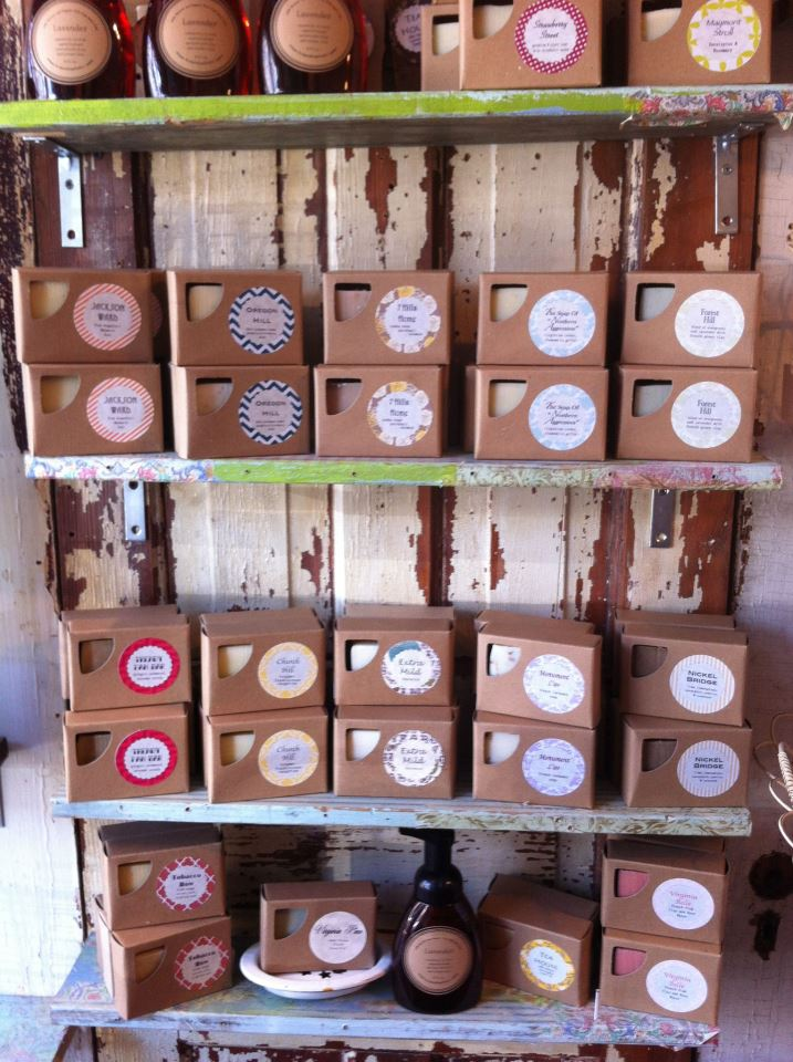 Richmond Soap Studio Display