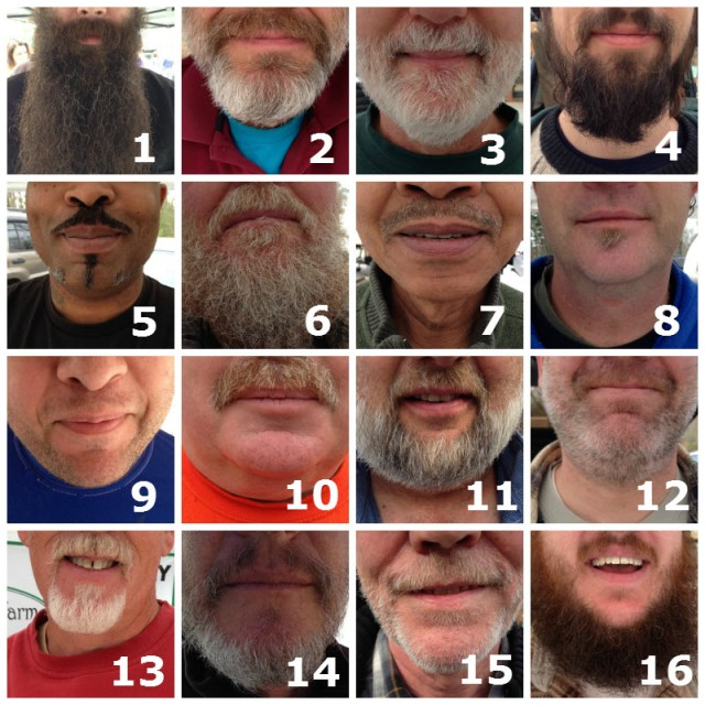 Growing Season Beard Contest