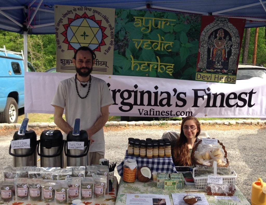 Shkambhari Devi Herbs at South of the James Market