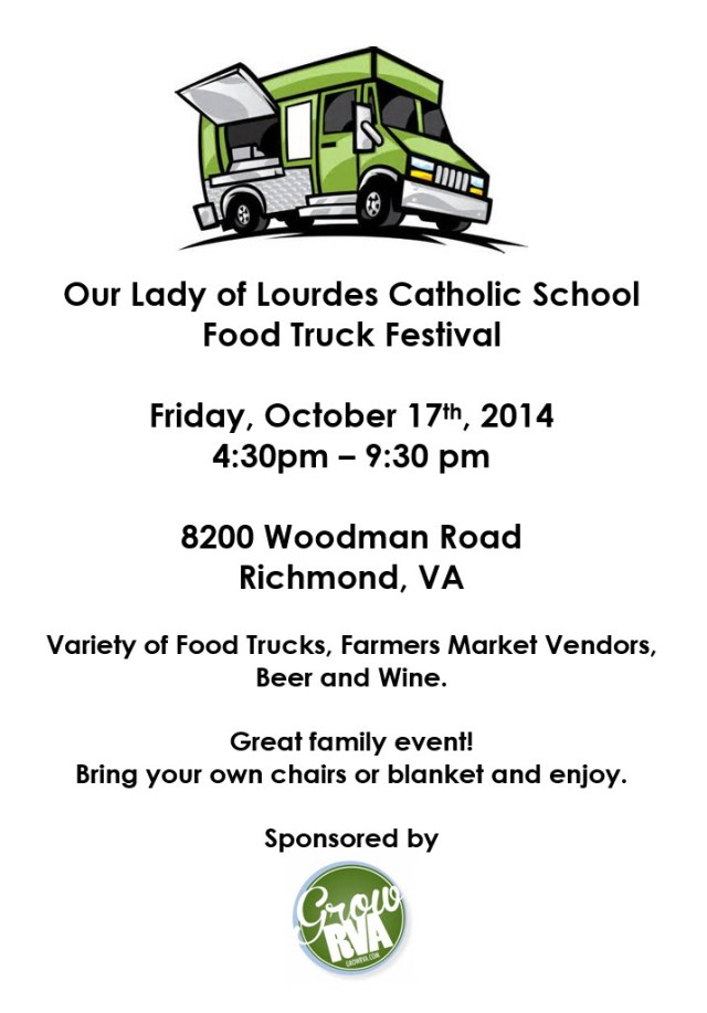 Our Lady of Lourdes Food Truck Festival