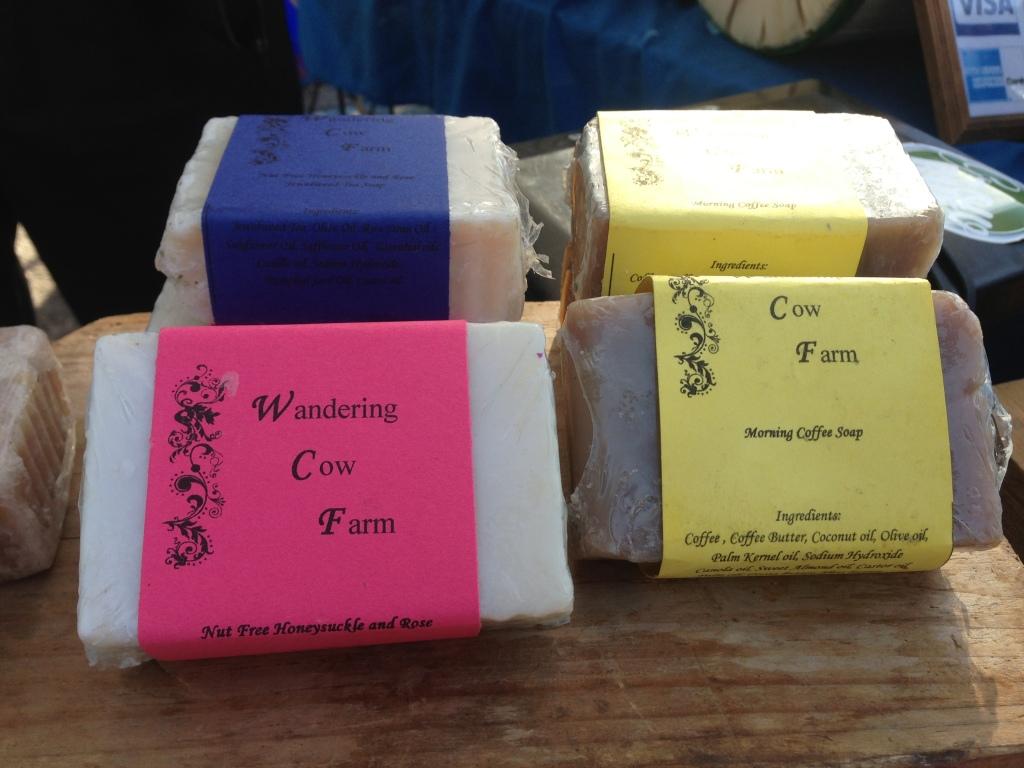 Wandering Cow Farm soaps