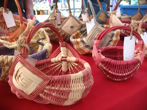 Wicked Wicker Works baskets