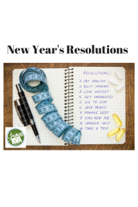 New Year's Resolutions with Title