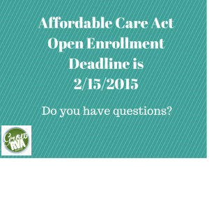 Affordable Care Act Deadline 2015
