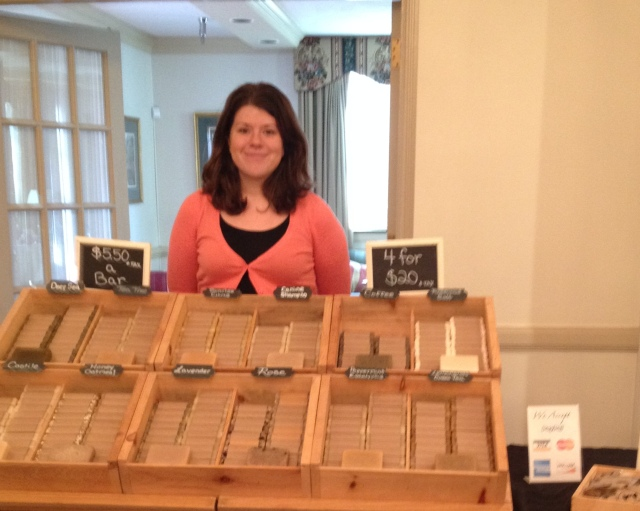 The Freckled Farm Soap Pic of Crystal.JPG