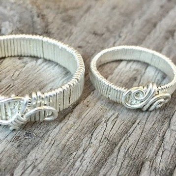Inspired Spirit wedding bands