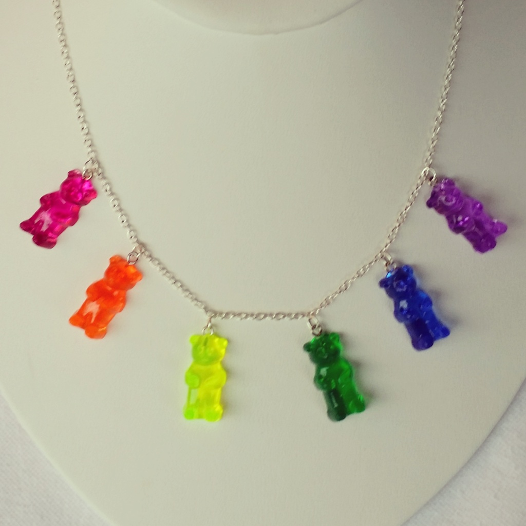 Jewelry by Leann and Teresa gummy bear necklace