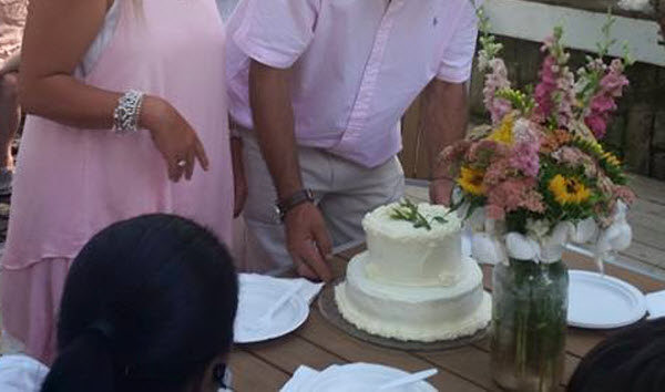 wedding cake by Kitchenette