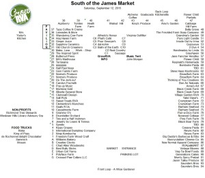 GrowRVA's South of the James Market September 12, 2015